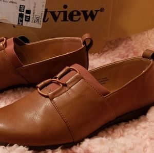 Comfort view Brown Vita flat